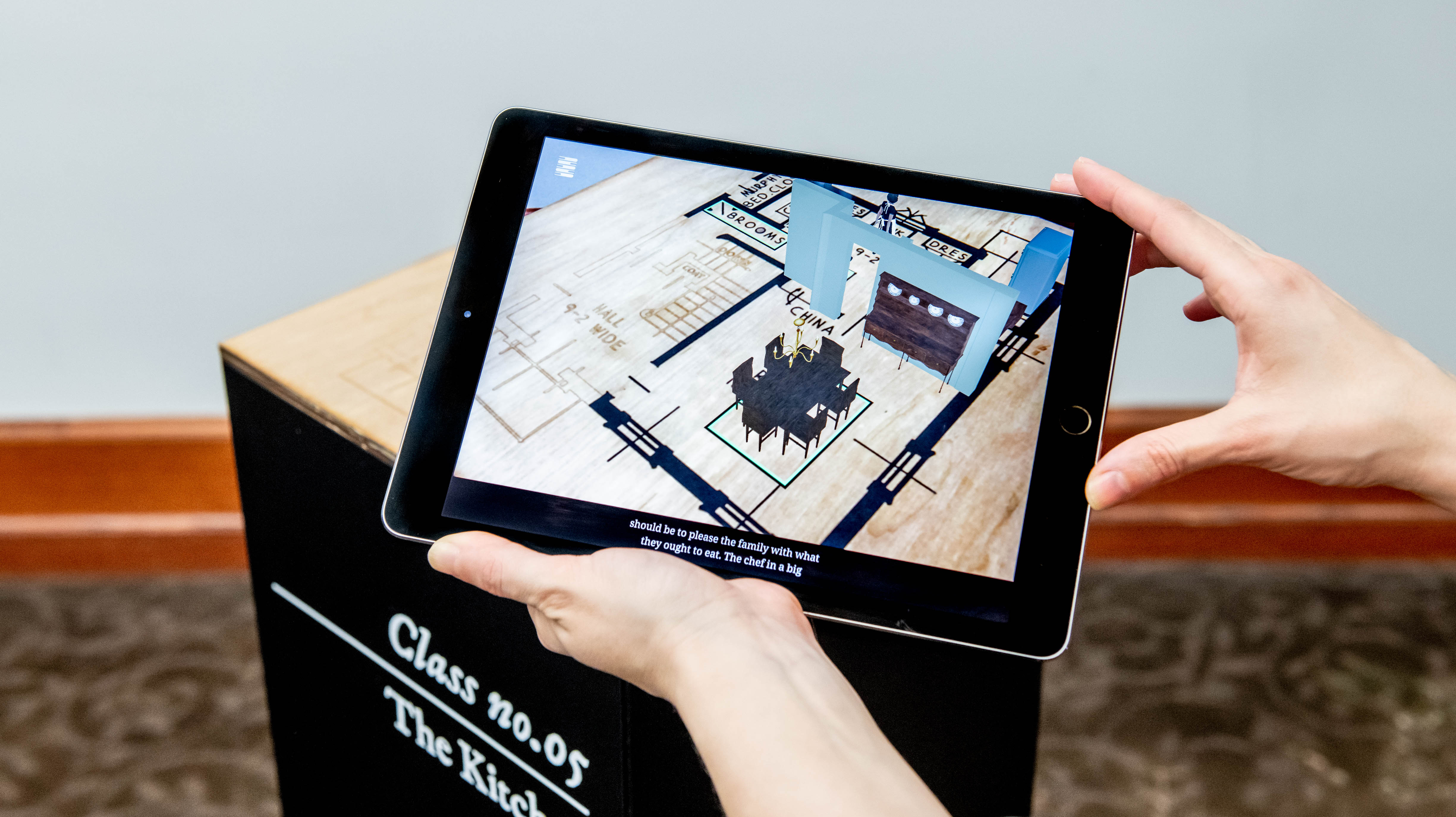 An Augmented Reality dollhouse for practicing life